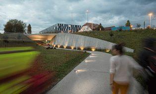 Pont et promenade de la Mouline