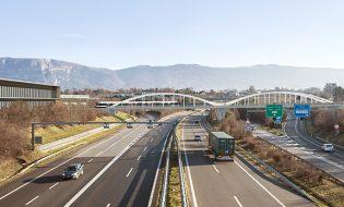 Pont de tram sur l'A1