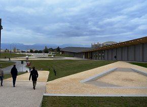 Campus EPFL et place Cosandey