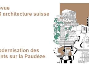 Article sur les ponts sur la Paudèze – Revue AS architecture suisse
