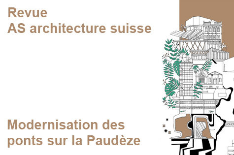 Article sur les ponts sur la Paudèze – Revue AS architecture suisse