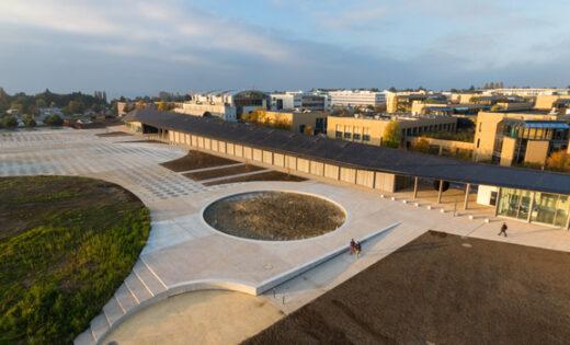 Campus EPFL und Place Cosandey
