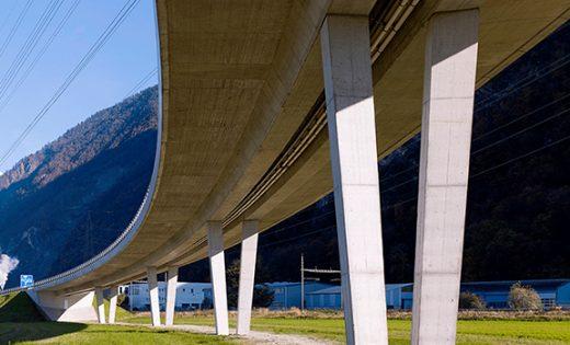 Viadukt über die A9