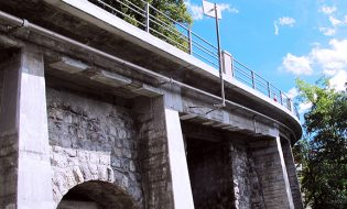 Corniche Structures and Underpass on the Route de Glion