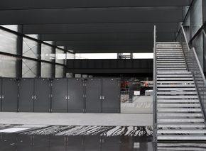 Passerelles métalliques des gares CEVA