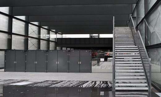 CEVA Station Metal Walkways