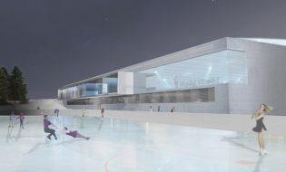 Eisstadion von Meyrin
