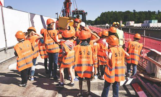 Pädagogischer Besuch der Paudèzebrücken