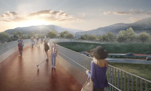 Competition – Pedestrian and Cyclist Bridge – Sion