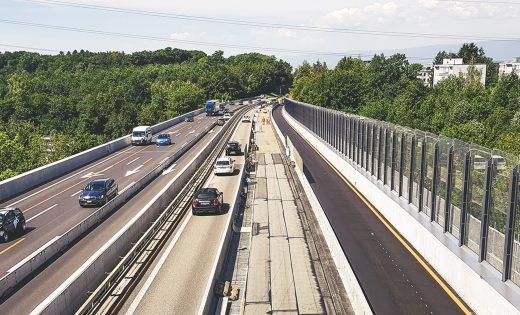 Sanierung der Flon-Brücke – zweite Phase