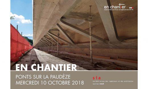 """SIA visit """"Under construction"""" Bridges over the Paudèze"""