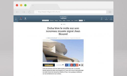 Artikel über das Nationalmuseum von Katar – Le Figaro