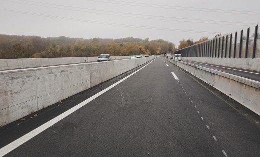Brücke über den Flon – Phase 2