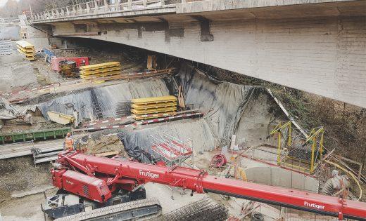 Blockierende Schächte bei den Paudèze Brücken – ASTRA