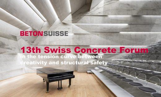 13th Swiss Concrete Forum – Betonsuisse