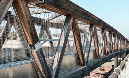 Fussgängerbrücke Stadion Genf – Brückensanierung