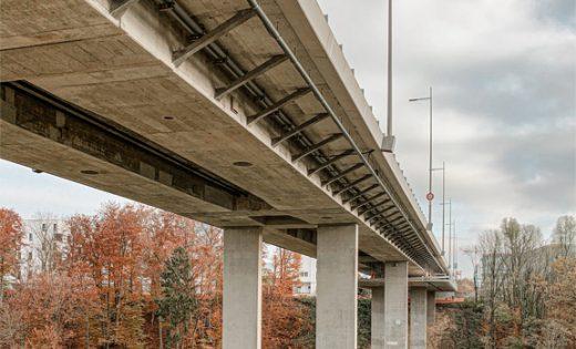 Pont sur le Lavapesson : réception des travaux