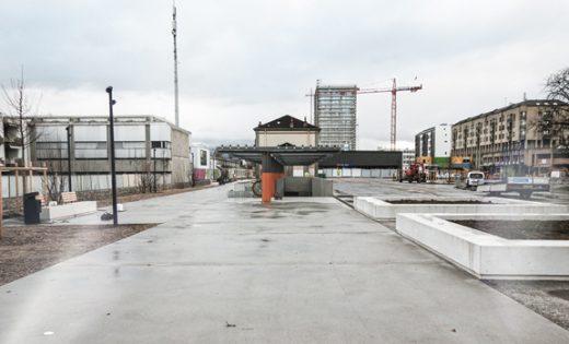 Espaces publics Chêne-Bourg: mise en service