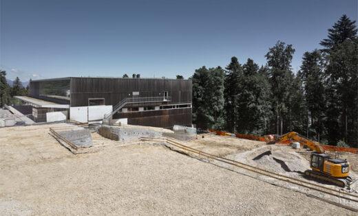 Halle Macolin – fin du terrassement et des travaux spéciaux