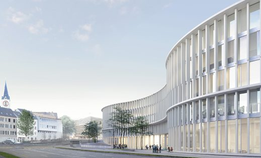 Concours Campus Platztor de l'Université de St-Gall